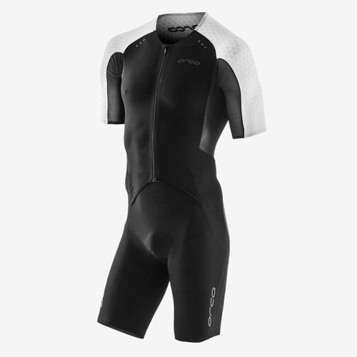 Orca - 2021 - RS1 Kona Aero Race Suit - Men's - Black White