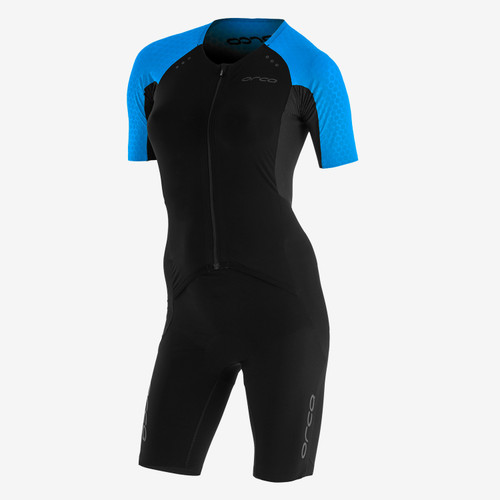 Orca - 2021 - RS1 Kona Aero Race Suit - Women's - Black Turquoise