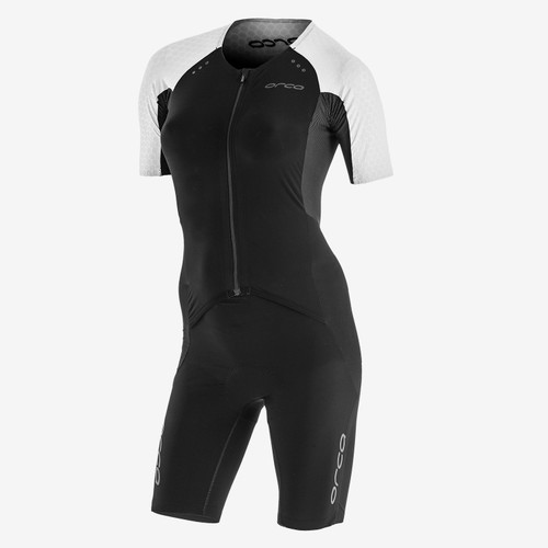 Orca - 2021 - RS1 Kona Aero Race Suit - Women's - Black White