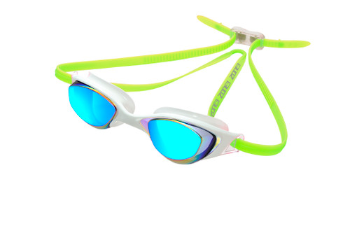 Zone3 - 2020 - Aspect - White/Lime - Lens : Rainbow Mirror - Unisex