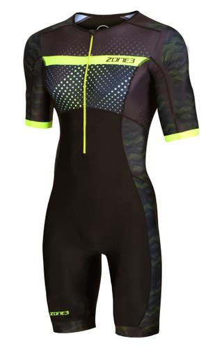 Zone3 - 2020 - Activate+ Revolution (Spots) Short Sleeve Trisuit - Men's