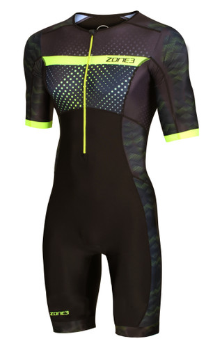 Zone3 - 2021 - Activate+ Revolution (Spots) Short Sleeve Trisuit - Men's
