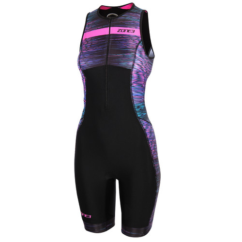 Zone3 - 2021 - Activate+ Momentum (Stripes) Sleeveless Trisuit - Women's