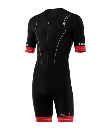 HUUB - Men's RaceLine Long Course Tri Suit - Black/Red