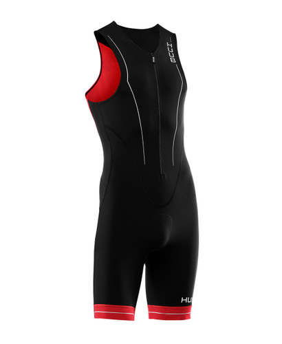 HUUB - Men's RaceLine Tri Suit - Black/Red - 2020
