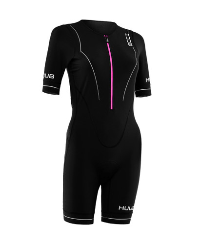 HUUB - Aura Women's Long Course Tri Suit - 2020 - Black/Purple