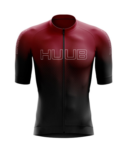 HUUB - Men's Core 2 Short-Sleeve Cycle Jersey - 2020 - Black/Silver/Red