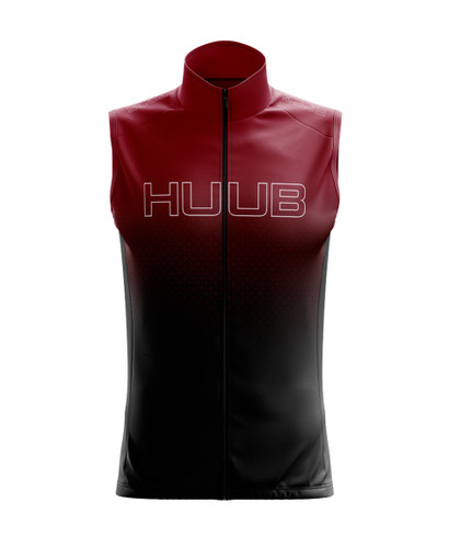 HUUB - Core 2 Elements Men's Gilet - 2020 - Black/Silver/Red