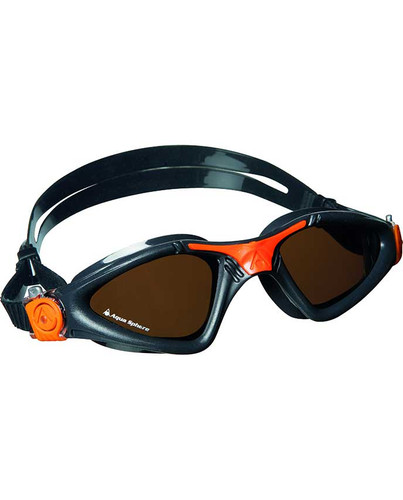 Aqua Sphere - Kayenne Goggles - Grey/Orange/Polarized
