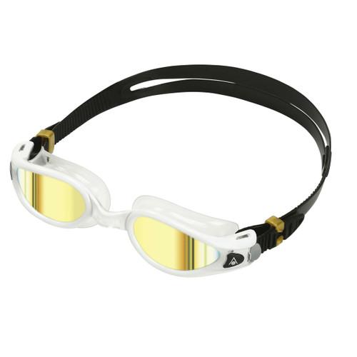 Aqua Sphere - Kaiman Exo Goggles - Gold Titanium Mirrored