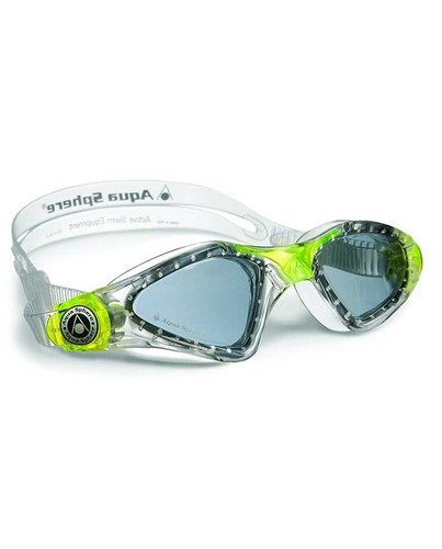 Aqua Sphere - Kayenne Junior Goggles - Clear/Lime/Blue