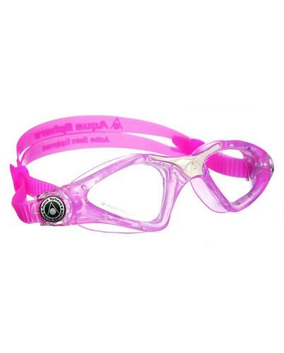 Aqua Sphere - Kayenne Junior Goggles - Pink/White/Clear
