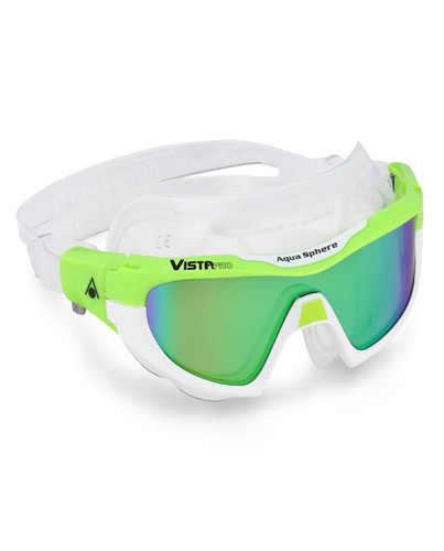 Aqua Sphere - Vista Pro Goggles - Lime/Green/Mirror