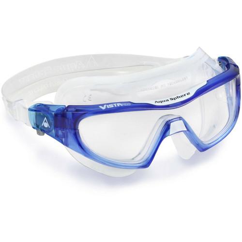 Aqua Sphere - Vista Pro Goggles - Blue/Clear/Clear