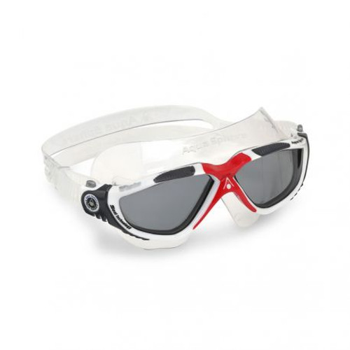 Aqua Sphere - Vista Goggles - White/Dark Grey/Red/Dark