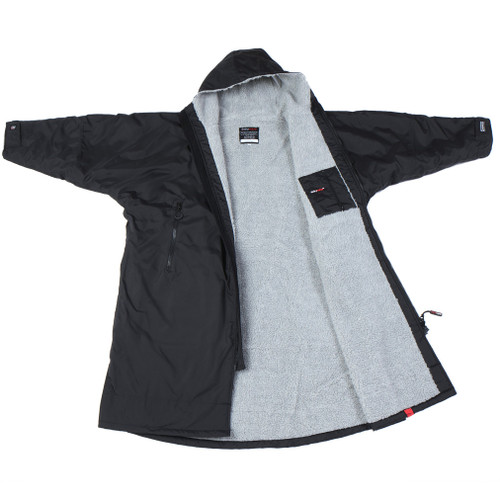 Dryrobe - Advance Long Sleeve - Black/Grey