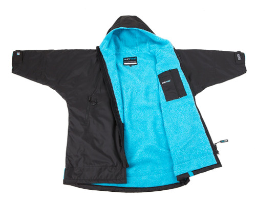 Dryrobe - Advance Long Sleeve - Black/Blue