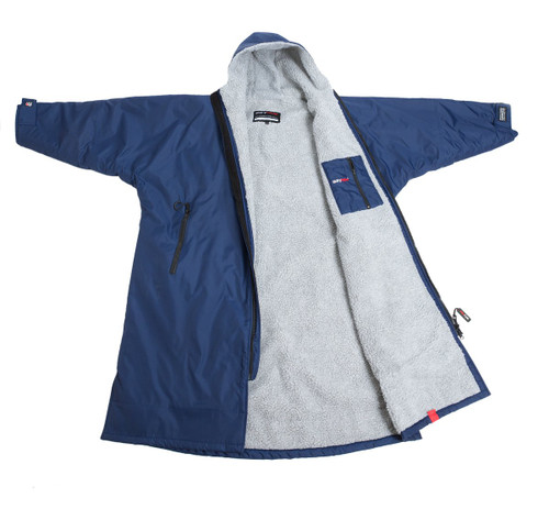 Dryrobe - Advance Long Sleeve - Navy/Grey
