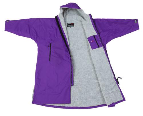 Dryrobe - Advance Long Sleeve - Purple/Grey