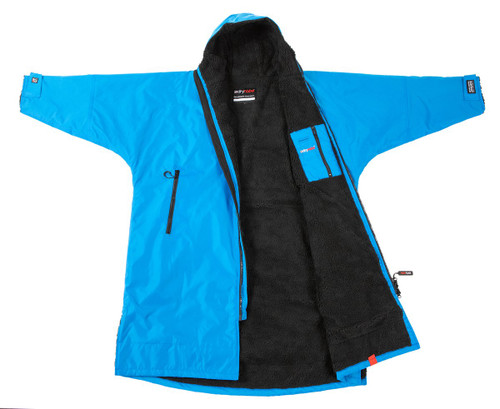Dryrobe - Advance Long Sleeve - Colbalt Blue/Black