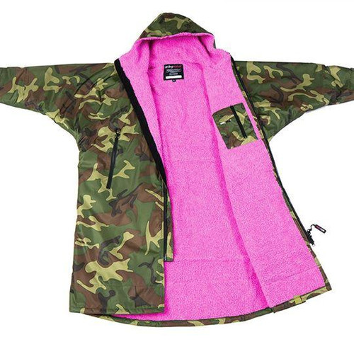 Dryrobe - Advance Long Sleeve - Camo/Pink
