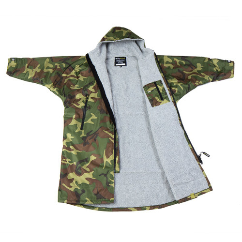 Dryrobe - Advance Long Sleeve - Camo/Grey