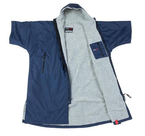Dryrobe - Advance Short Sleeve - Navy/Grey