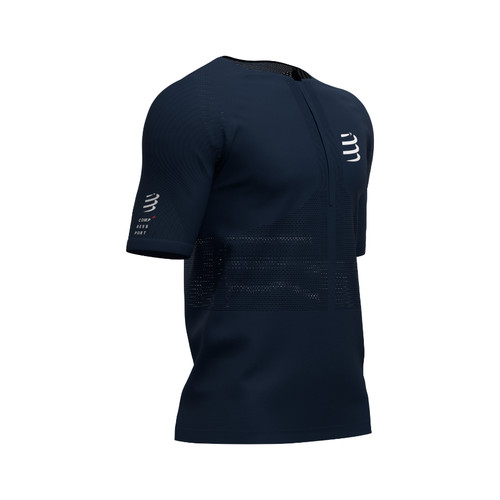 Compressport - Men's Trail Half-Zip Fitted Short-Sleeved Top - 2020