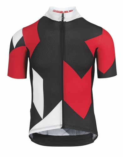 Assos - Men's Fastlane Rock Short-Sleeved Jersey - National Red