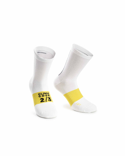 Assos - Spring/Autumn Unisex Socks - Holy White