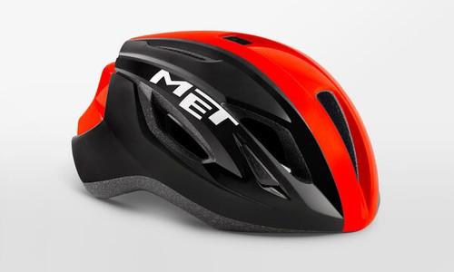 MET - Strale Black Red Panel Helmet