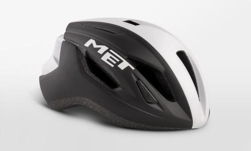 MET - Strale Black White Panel Helmet