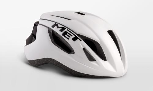 MET - Strale White Black Helmet