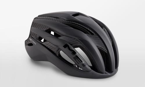 MET - Trenta 3K Carbon Black Raw Helmet