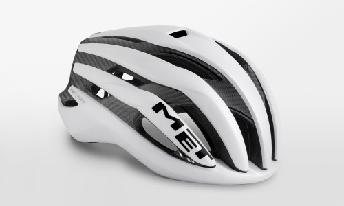 MET - Trenta 3K Carbon White Raw Helmet