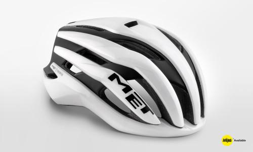 MET - Trenta Black White Helmet