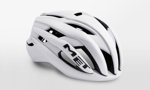 MET - Trenta White Matt Glossy Helmet