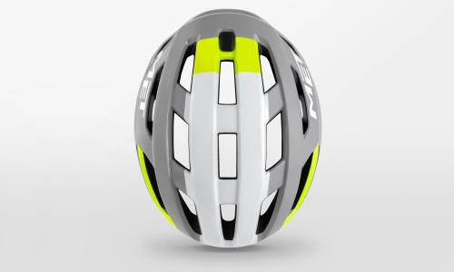 MET - Vinci Mips Gray Yellow Helmet