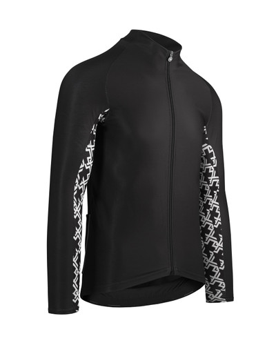 Assos - MILLE GT Men's Spring/Autumn Long-Sleeve Jersey - Black Series