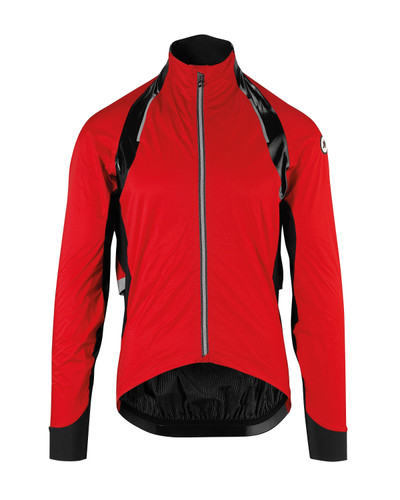 Assos - RS Sturm Prinz EVO Unisex Cycling Rain Jacket - National Red