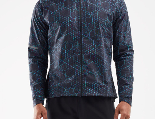 2XU - GHST Waterproof Men's Jacket - Matrix Black/Silver Reflective - Autumn/Winter 2020