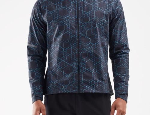 2XU - GHST Waterproof Men's Jacket - Matrix Black/Silver Reflective