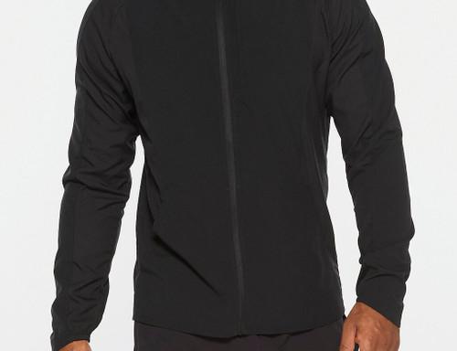 2XU - XVENT DWR Men's Jacket - Black/Silver Reflective
