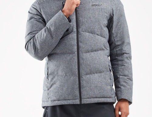 2XU - UTILITY Men's Insulation Jacket - Crosshatch/Black - Autumn/Winter 2020