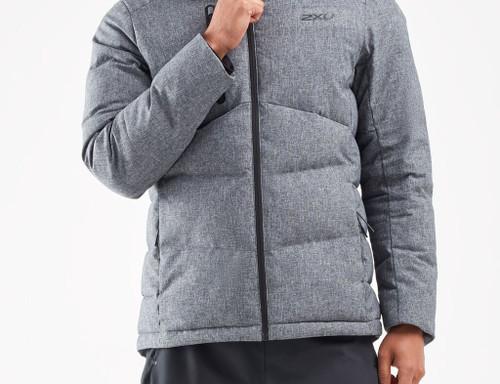 2XU - Men's Utility Insulation Jacket - Crosshatch/Black - Autumn/Winter 2021