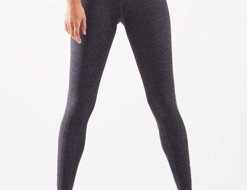 2XU - Women's Motion Print Mid-Rise Compression Tights - Carbon Marle/Black - Autumn/Winter 2021