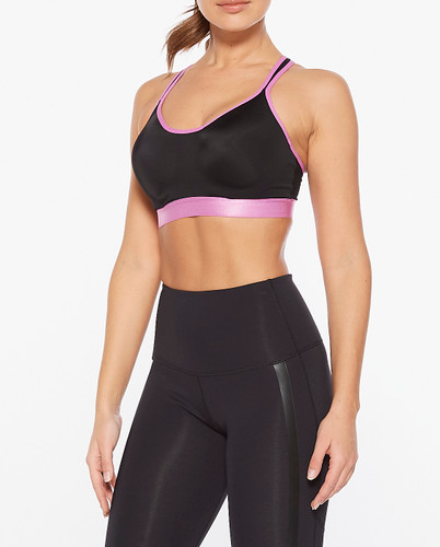 2XU - Women's Hi Impact Bra - Black/Ultra - Autumn/Winter 2020