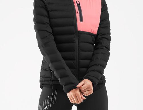 2XU - Women's PURSUIT Insulation Jacket - Black/Pink Lift - Autumn/Winter 2020