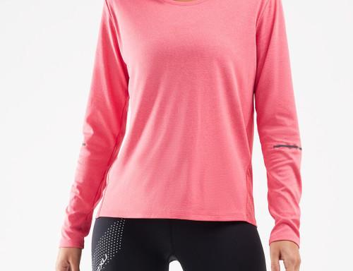 2XU - XVENT G2 Women's Long-Sleeve Top - Pink Lift/Silver Reflective - Autumn/Winter 20