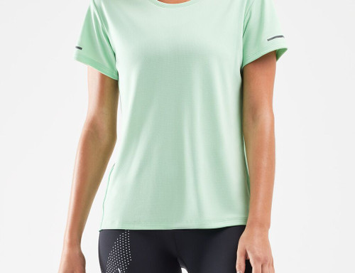 2XU - XVENT Women's G2 Short-Sleeve Tee - Neo Mint/Silver Reflective - Autumn/Winter 2020